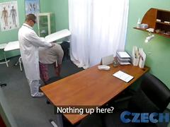 Xhamster.com 3941344 czech patients bad back doesnt stop doctor bending her over
