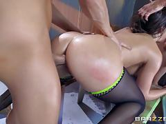 Abella danger fucked in her bootyhole