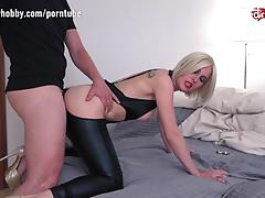 Blonde loves hard cock