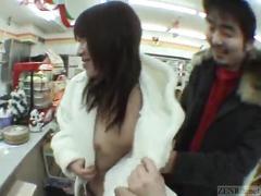 Subtitled classic japanese public nudity adventures