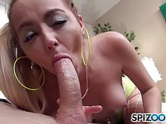 Iris rose cock slurping action