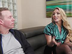 Anal for aj applegate balls deep and spunking facial