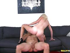 Horny petite stacey kiss banged in the cum fiesta house