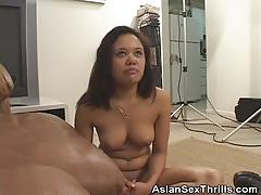 Casting with asian babe annie cruz