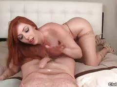 Clubtug-redhead slut blowjob