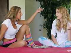 August ames and kenna james give webcamming a go