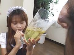 Amazing asian pee drink