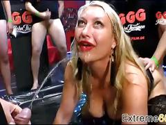 Pissing training with lovely german pornstar