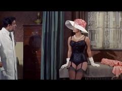 Sophia loren in lingerie and nylons