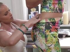 Agirlknows - lesbian fuck with czech and hungarian blondies