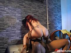 Monique alexander gets her sweet muff pounded balls deep