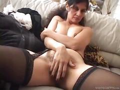 Hot mature latina maid