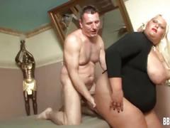 Very fat german woman take cock