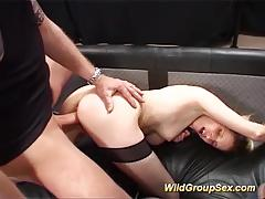 German amateur gets her mouth filled with cum