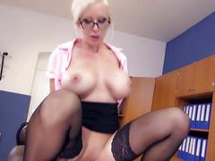 Hot milf and her younger lover 512