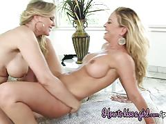 Wild lesbian fun with julia ann and cherie deville