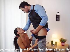 Kinky erotic sex therapy for gorgeous euro babe