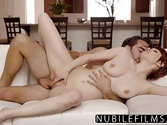 Sensual babe enjoys intimate fuck