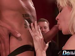 Blonde heidi mayne bounces on this hard dick