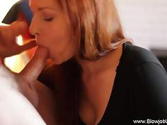 Sloppy blowjob redhead adventure