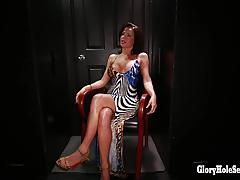 veronica avluv, swallow, squirting, oral, cum swallowing, glory hole, gloryhole, cum in mouth, blow jobs, cum shots