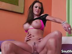 Busty brunette jenna presley loves to fuck