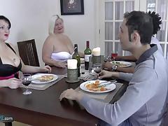 ex girlfriend, hardcore, anal, curvy, mom, mature, granny, old, group