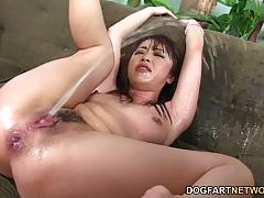 Marica hase enjoys black cock