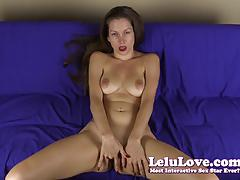 Babe lelu love masturbating
