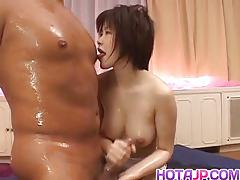 Asian amateur loves hard cock
