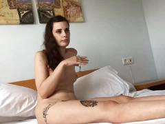 Casting with a young and pretty lawyer nude