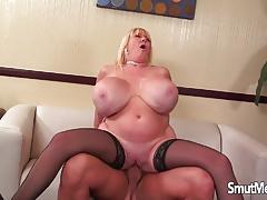 Kayla kleevage loves hard cock