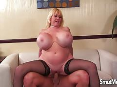 Kayla kleevage loves hard cock