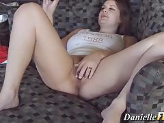 brunette, busty, babe, toy, masturbation, pornstar, curvy, vibrator, orgasm, natural, gorgeous, panties, bigtits, pov