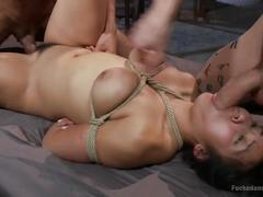 Asian slut gets dicked