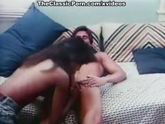 Ginger lynn allen, traci, tom byron in classic porn movie