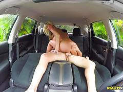 Sean gets his cock sucked by hot blonde milf tylo duran