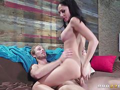 Ariana marie taking a hard cock in her tight pussy
