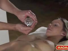 German oil massage