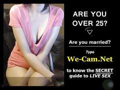 Lovely girl short webcam clip show