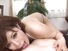 Hot ririsu ayaka blows tasty cock in pov