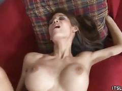 Busty ryder skye couch banged