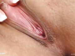 Brandy s solo masturbating at home from give me pink