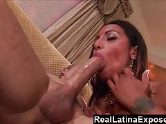 brunette, big dick, blowjob, hardcore, babe, handjob, latina, amateur, webcam