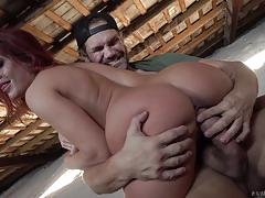 Gala brown getting fucked in every hole