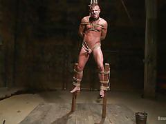 Gay bondage on stilts