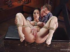 milf, tattoo, bdsm, spanking, domination, vibrator, big breasts, ball gag, rope bondage, sex and submission, kink, chanel preston, bill bailey