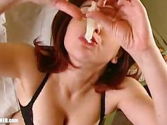 Condom cum swallowing & bareback dirty ass-to-mouth: anal assfucking humiliation