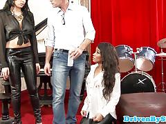 Jizzing over anissa kate
