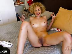 Blonde amateurs sexy interview